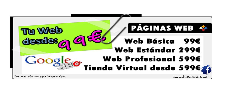 paginas web en alicante